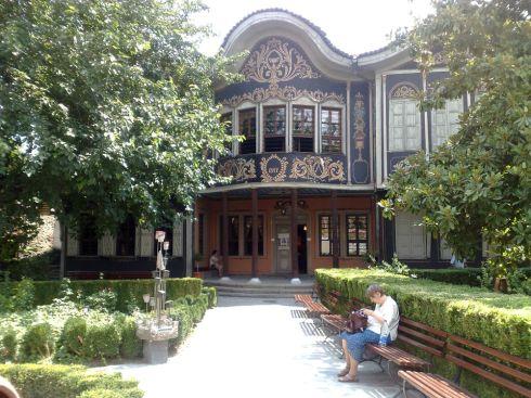 Fachada del Museo Etnográfico de Plovdiv