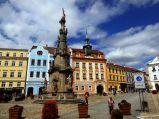 Plaza de Jindrichuv Hradec - República Checa